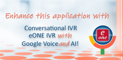 eONE Conversational Applications